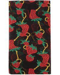 Gucci - Strawberry-jacquard Tights - Lyst