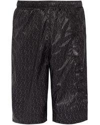 Cottweiler Logo-print Board Shorts - Black