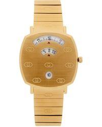 Gucci Gold Grip Watch - Metallic