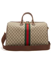 Gucci Ophidia Gg Supreme Logo Weekend Bag - Multicolour