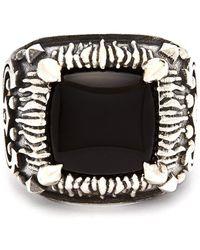 Emanuele Bicocchi Braided Sterling Silver Ring - Metallic