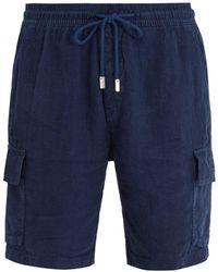 Vilebrequin - Baie Linen Shorts - Lyst