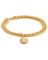 Orit Elhanati - Aliya Double Chain Gold Plated Anklet - Lyst