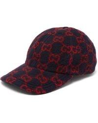 Gucci GG-print Wool-blend Felt Cap - Multicolour