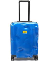 Crash Baggage ストライプ キャビンスーツケース 55cm - ブルー