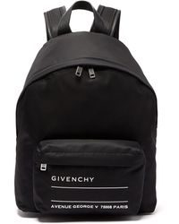 Givenchy - Urban Leather-trimmed Backpack - Lyst