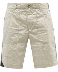 Klättermusen Ansur Cotton-ripstop Shorts - White