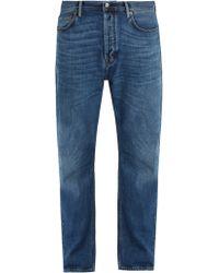 Acne Studios - Blå Konst Land Straight Leg Jeans - Lyst