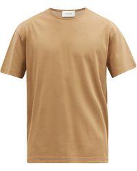Lemaire コットンtシャツ - ブラウン