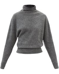 Proenza Schouler オーバーサイズ タートルネックセーター - グレー