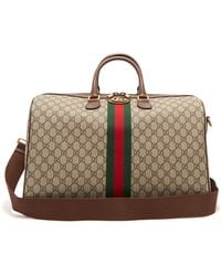 Gucci Ophidia Gg Supreme Logo Weekend Bag - Multicolor