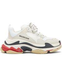 Balenciaga - Triple S Low-top Sneakers - Lyst