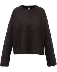 Totême Totême アルパカブレンドセーター - ブラック