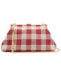 Mansur Gavriel - Volume Cotton-canvas Mini Clutch - Lyst