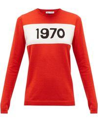 Bella Freud - 1970 インターシャセーター - Lyst