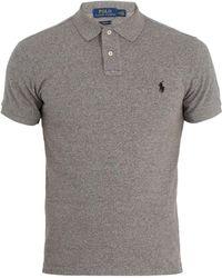 Polo Ralph Lauren | Slim-fit Cotton-piqué Polo Shirt | Lyst