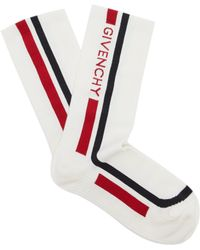 Givenchy - Logo Socks - Lyst