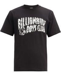 BBCICECREAM アーチロゴ コットンtシャツ - ブラック