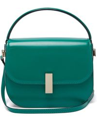 Valextra - Iside Leather Cross Body Bag - Lyst