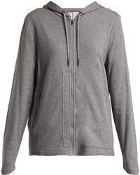 Falke - Zip-front Hooded Sweatshirt - Lyst