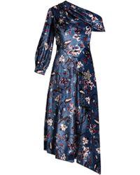 Erdem - Jacobina Tulip Dream Print Velvet Gown - Lyst