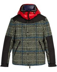 3 MONCLER GRENOBLE Palu Quilted Down Ski Jacket - Gray