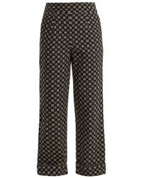 Ace & Jig - Annie High-rise Wide-leg Cotton Trousers - Lyst