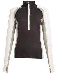 Bogner - Ryana Half Zip Stretch Jersey Mid Layer Top - Lyst