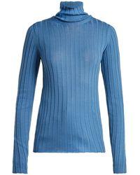 Petar Petrov - Karen High Neck Wool Sweater - Lyst