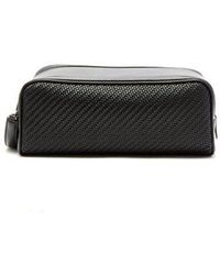 Ermenegildo Zegna - Woven-leather Wash Bag - Lyst