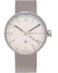 Bravur - Bw102 Stainless-steel Watch - Lyst