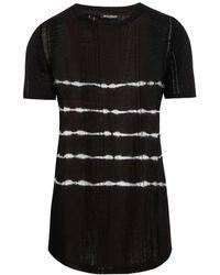 Balmain - Tie-dye Linen T-shirt - Lyst