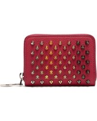Christian Louboutin - Panettone Zip Around Leather Coin Purse - Lyst