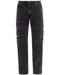 Y. Project - Mid-rise Tiered Jeans - Lyst