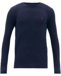 Polo Ralph Lauren ロングスリーブtシャツ - ブルー
