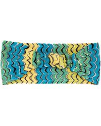 Missoni - Fish-scale Knitted Headband - Lyst