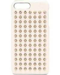 Christian Louboutin Loubiphone Leather Iphone® 7 & 8 Plus Case - Multicolour