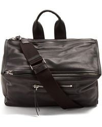Givenchy - Pandora Leather Holdall - Lyst