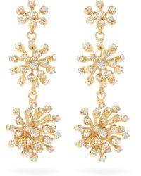 Jacquie Aiche Anahata Diamond, Sapphire, Opal & 18kt Gold Ring - Pink