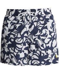Polo Ralph Lauren | Underwater-print Swim Shorts | Lyst