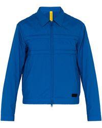 5 MONCLER CRAIG GREEN Doodle Logo-embossed Cotton Jacket - Blue