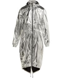 Paco Rabanne - Reflective Technical Hooded Jacket - Lyst