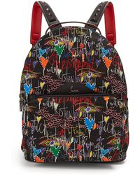 Christian Louboutin - Loubitag Printed Backpack - Lyst