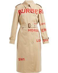 Burberry - Wharbridge コットンギャバジントレンチコート - Lyst