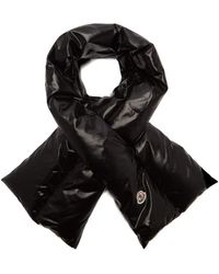 Moncler - - Padded Shell Scarf - Womens - Black - Lyst