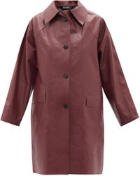 Kassl Trench-coat en coton mélangé Above Oil - Multicolore