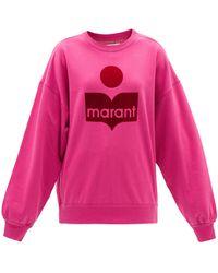 Étoile Isabel Marant ミンディ コットンブレンド スウェットシャツ - ピンク