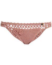 She Made Me - Jannah Cheeky Crochet Bikini Briefs - Lyst