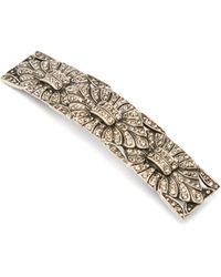 Etro Crystal-embellished Hair Clip - Metallic