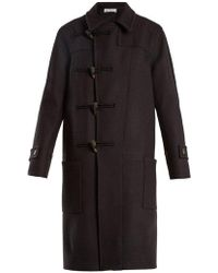 Raey - Double-breasted Wool Duffle Coat - Lyst